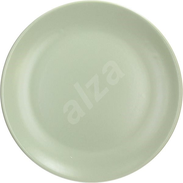 Tognana Set of shallow plates 26cm FABRIC SALVIA 6pcs, green - Set