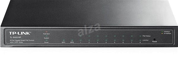 TP-Link T1500G-10PS - Smart Switch