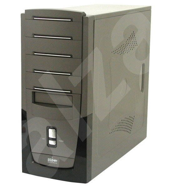 "KME MiddleTower ATX CX-5759 P4-400W 4x5.25"", 2+5x3.5"" - PC Case"