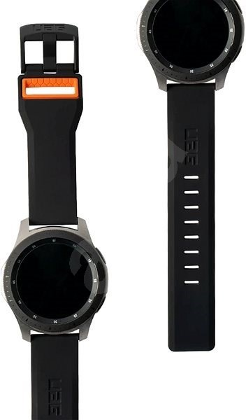 UAG Civilian Strap Black/Orange Samsung Galaxy Watch 46mm - Watch band