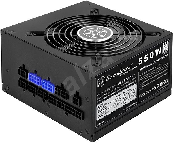 SilverStone Strider Platinum ST55F-PT 550W - PC Power Supply