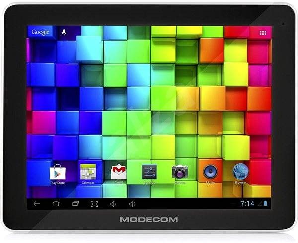 MODECOM FreeTAB 9706 IPS2 X4+ Black - Tablet