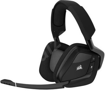 Corsair VOID PRO RGB Wireless Carbon - Gaming Headset
