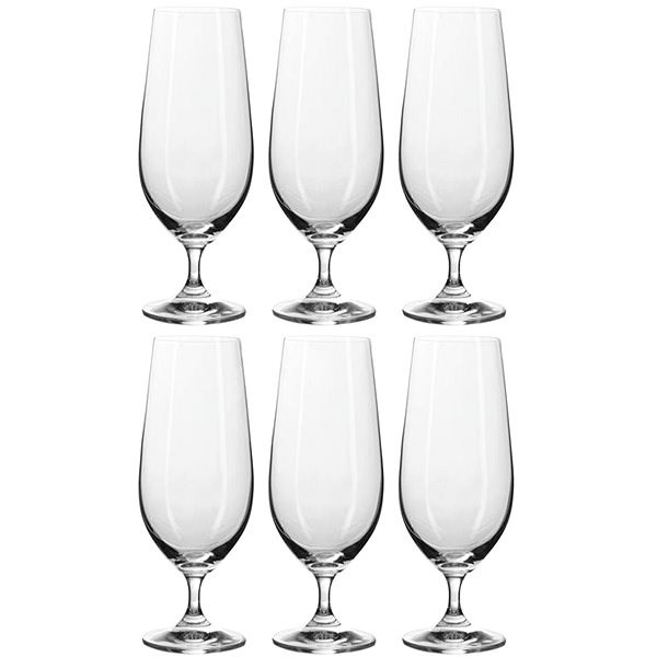 BANQUET Leona Crystal 370 A11306 beer glasses - Beer Glass