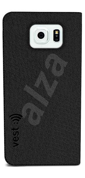 Vest Anti-Radiation for Samsung Galaxy S6 black - Mobile Phone Case