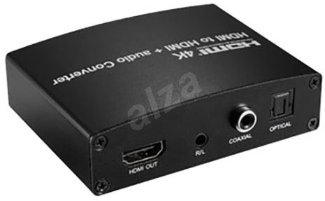 PremiumCord HDMI 4K repeater with audio separation - Extender
