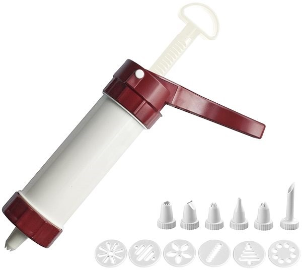 """WESTMARK Cookie Press and Icing Syringe """"Luxus"""" - Cake decorating equipment"""