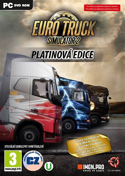 Euro Truck Simulator 2: Platinum Edition - PC Game