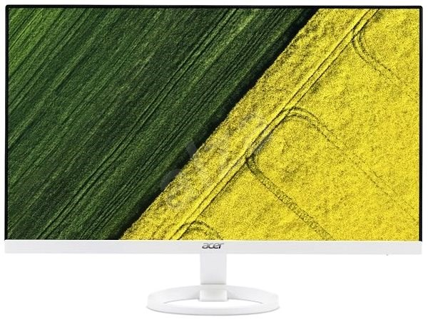 "23,8"" Acer R241YBwmix, IPS LED, White - LCD monitor"