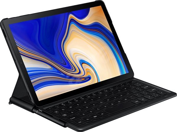super popular 15ad2 1d859 Samsung Galaxy Tab S4 Bookcover Keyboard Black