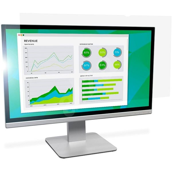 "3M for LCD screen 21.5"" Widescreen 16: 9, Anti-glare - Privacy Filter"