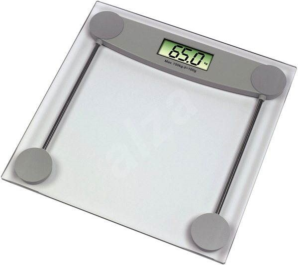 "XAVAX ""Melissa"" Silver - Bathroom scales"