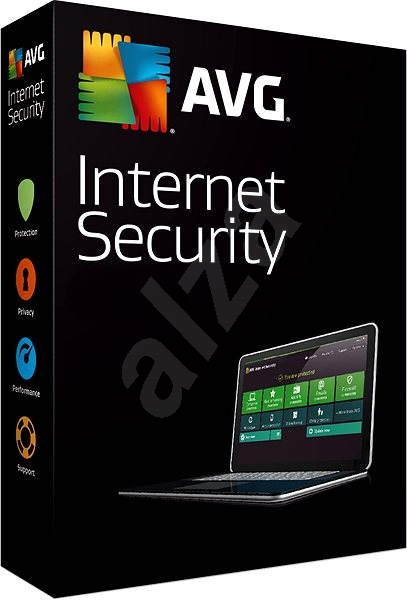 AVG Internet Security for 1 computer for 12 months - Security Software