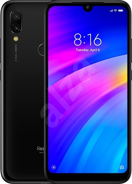 Xiaomi Redmi 7 LTE 32GB black - Mobile Phone