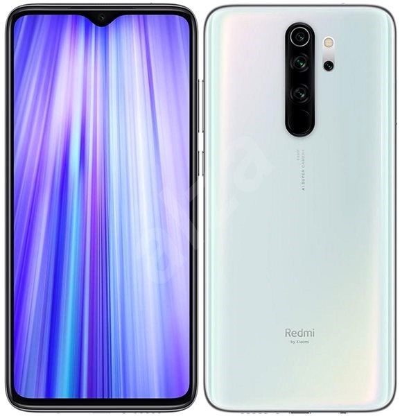 Xiaomi Redmi Note 8 Pro LTE 128GB White - Mobile Phone