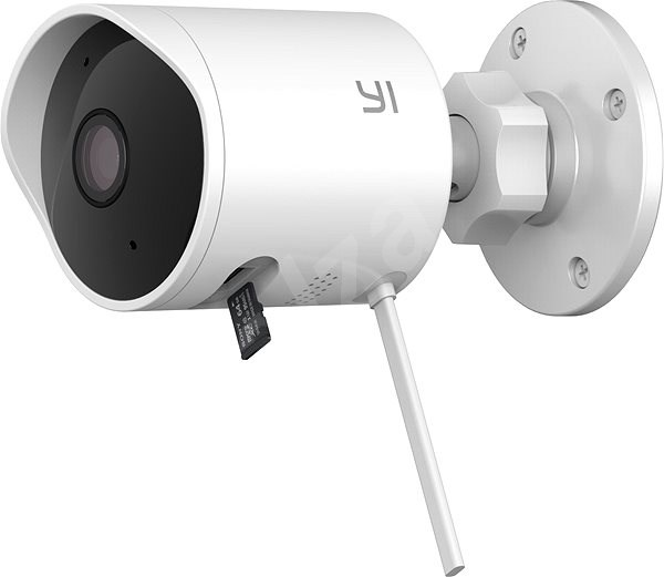 YI Outdoor 1080P White Camera