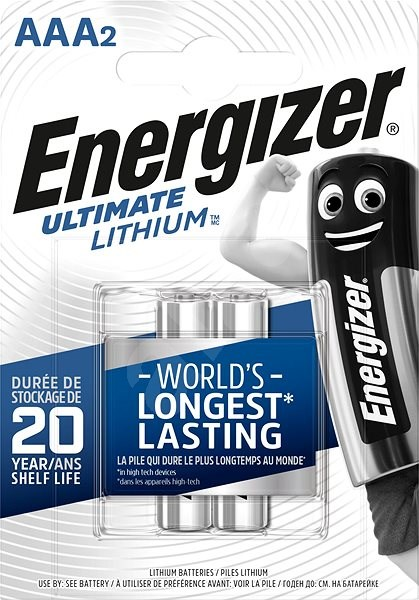Energizer Ultimate Lithium AAA/2 - Disposable batteries