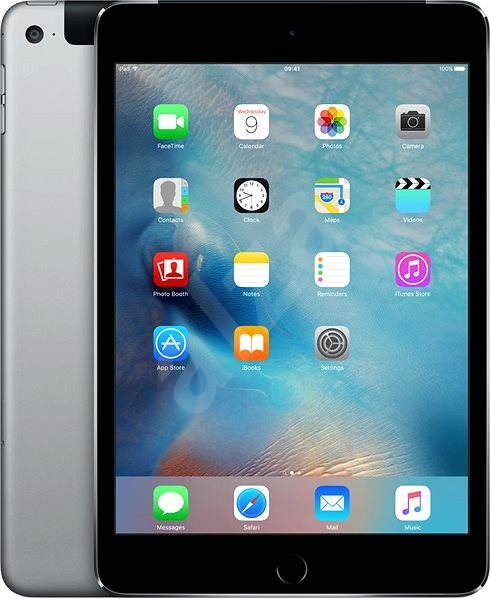 iPad mini 4 with Retina display 32GB Cellular Space Gray DEMO - Tablet