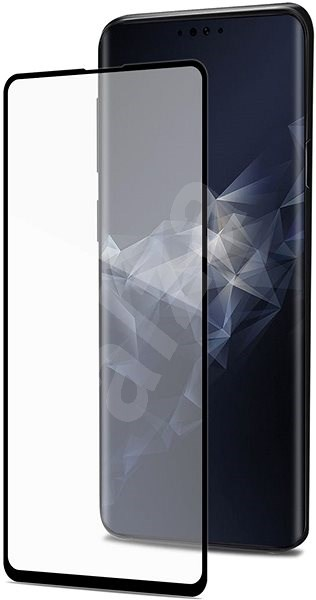 CELLY Full Glass for Samsung Galaxy S10e Black - Glass protector