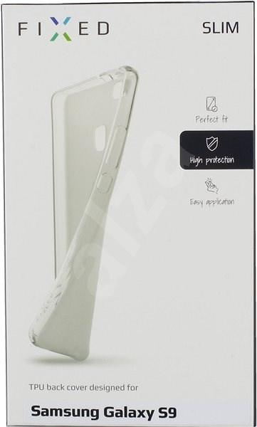Ultrathin TPU case FIXED Skin for Samsung Galaxy S9, clear - Mobile Case
