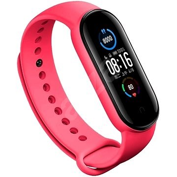 Eternico Silicone Pink for Mi Band 5 / 6 - Watch Band