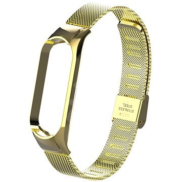 Eternico Mesh Stainless Steel Gold for Mi Band 5 / 6 - Watch Band