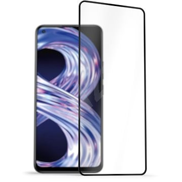 AlzaGuard 2.5D FullCover Glass Protector for Realme 8 - Glass Protector