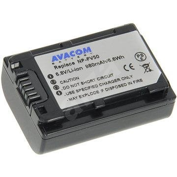 AVACOM for Sony NP-FV30, NP-FV50 Li-ion 6.8V 980mAh 6Wh - Rechargeable Battery