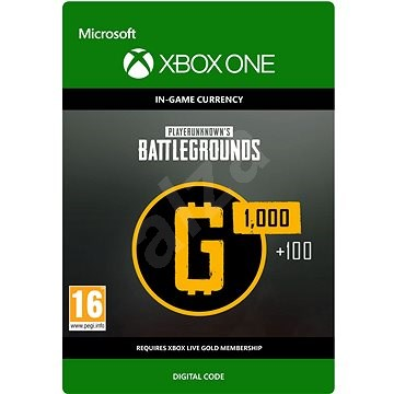 PLAYERUNKNOWN'S BATTLEGROUNDS 1,100 G-Coin  - Xbox One DIGITAL - Gaming Accessory