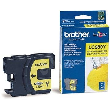Brother LC-980Y Yellow - Cartridge