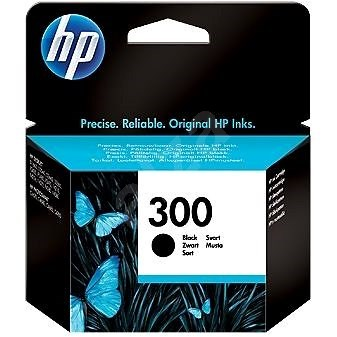 HP CC640EE No. 300 Black - Cartridge