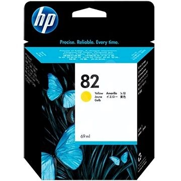 HP 82 69-ml Yellow DesignJet Ink Cartridge (C4913A) - Cartridge
