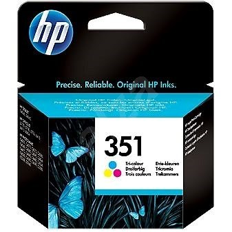 HP 351 Tri-color Original Ink Cartridge CB337EE - Cartridge