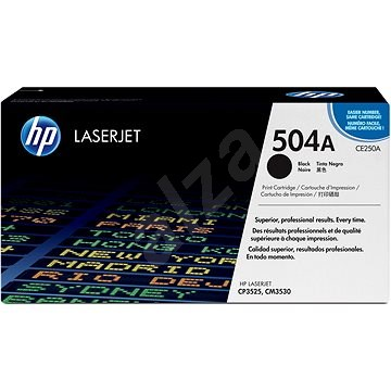 HP CE250A No. 504A Black - Toner