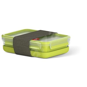 TEFAL MASTERSEAL TO GO Rectangular lunch box 1.2l with 3 internal bowls and tray - Container